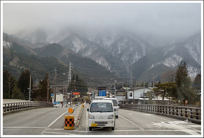 This was taken from the bus that took us from the town of Nikko to the mountains.  It took 75 minutes.