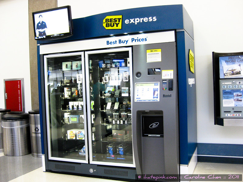 At LAX. Begrudgingly, an excellent idea. Too bad I have resolved to boycott Best Buy and have done so for ... at least 6 years.