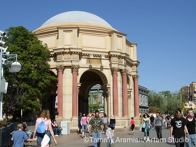 fake Palace of Fine Arts with no specific function
