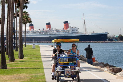 Queen Mary and Tourist Cycle, Long Beach CA