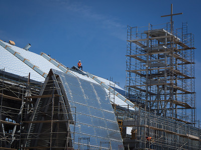 Under Construction, Our Lady Queen of Angels, Newport Beach CA