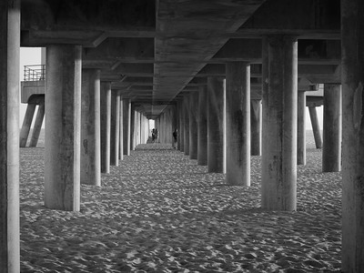 Under the Pier #1, Huntington Beach CA
