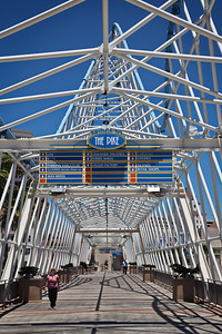 "Bridge to ""The Pike"" #1, Long Beach CA"