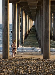 Under the Pier #2, Huntington Beach CA
