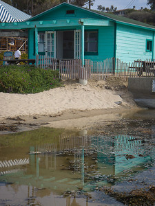 Cottage Reflection, Crystal Cove SP CA