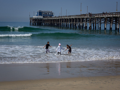 Fun at the Pier, Newport Beach CA