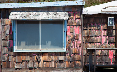 Window and Shingles, Crystal Cove SP CA