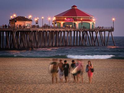 Ruby's at the Pier, Huntington Beach CA