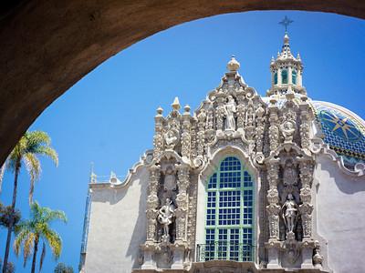 Facade, Museum of Man, Balboa Park, San Diego CA