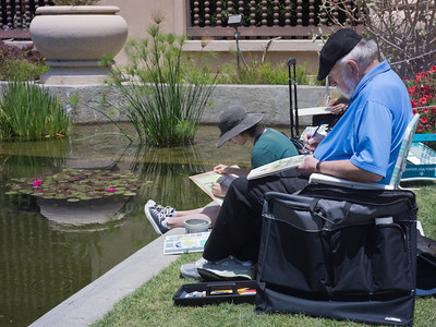 """Giverny comes to San Diego"", Balboa Park, San Diego CA"