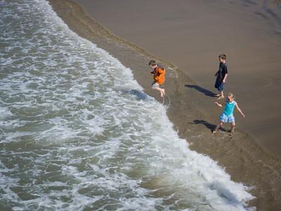 Fun in the Surf, Newport Beach CA