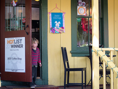 """Best Coffee Shop"", Los Rios District, San Juan Capistrano CA"
