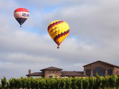 Balloons and winery, Temecula CA
