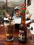 Barb, great sarsaparilla root beer float in San Diego, CA