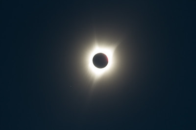 Solar Eclipse from Lookout Mtn., Oregon.