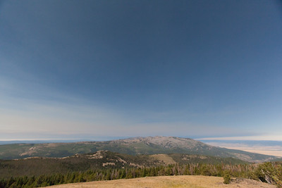 Watching the Solar Eclipse from Lookout Mountain, Oregon.