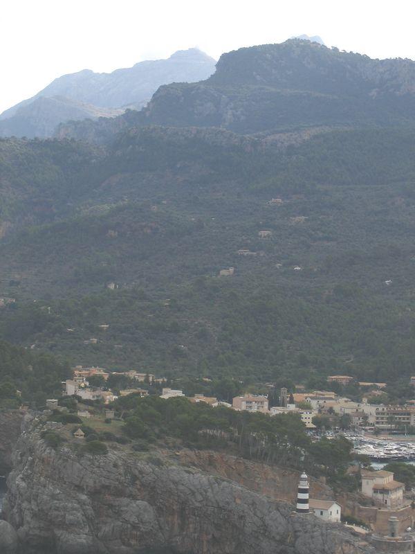 Start of the Hike above Puerto de Soller