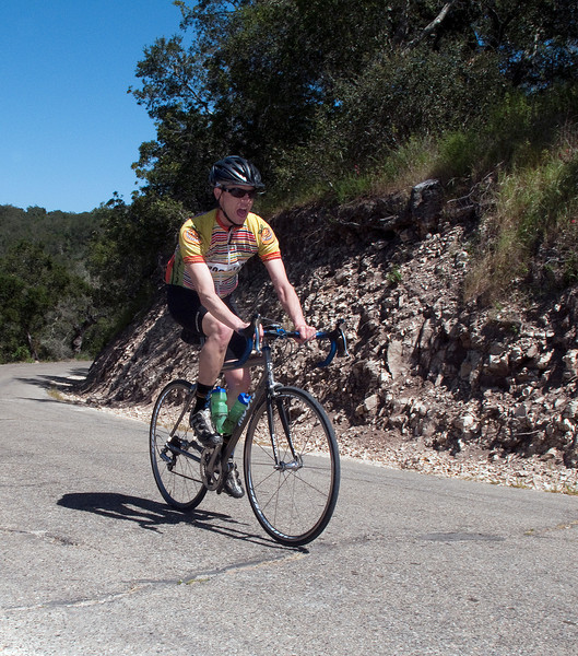 J.R.  on Drum Canyon Rd.