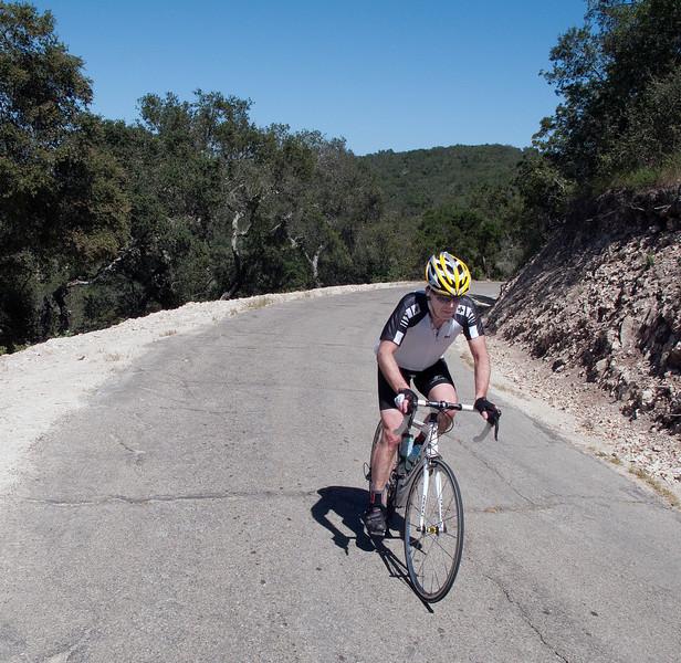 John Maas on Drum Canyon Rd.