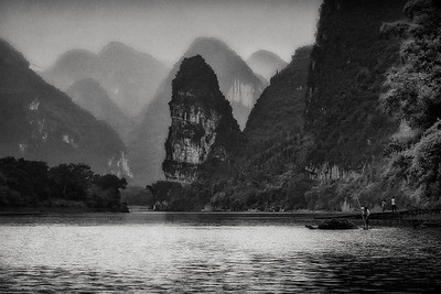 Li River Near Guilin, China