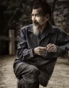 Contemplation, Guilin, China