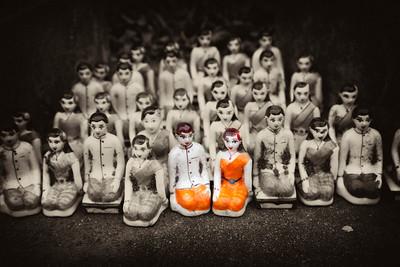 Figurines at Ayutthaya