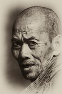 Man of Yangshao, China