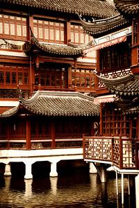 Shanghai - Yuyuan Shopping area buildings