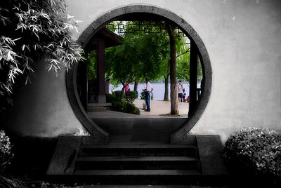 Hang Zhou - Entrance to color