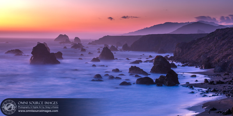 Sonoma Coast Twilight - Furlong Gulch
