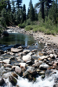 7/7/07 Leavitt Trail (crossing bridgeover West Walker River from Leavitt Meadows Campground). Off Sonora Pass Road (Hwy 108), Toiyabe National Forest, Mono County, CA
