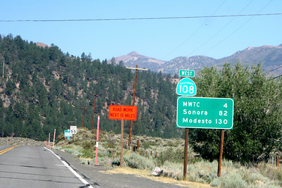 7/7/07 Sonora Pass Road (Hwy 108) heading west to Sonora from Hwy 395. Toiyabe National Forest, Mono County, CA