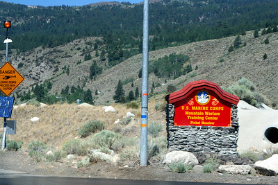 7/7/07 U.S. Marine Corps Training Camp, Sonora Pass Road (Hwy 108) enroute to Sonora from Hwy 395. Toiyabe National Forest, Mono County, CA