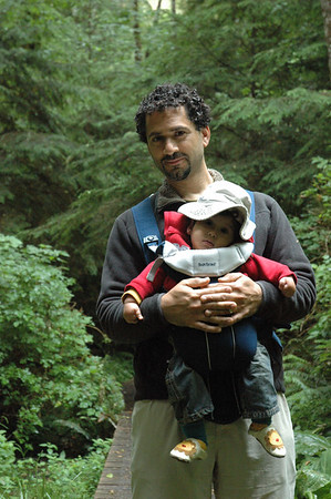 Mikail and the gus on Pike road trail.