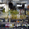 Liquor shop in the town of Sorrento, Italy.