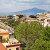 Sorrento: Hotel Plaza: From Sky Bar toward Vesuvius