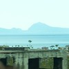 On bus: First view of Capri