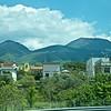 On bus: Vesuvius from autostrada