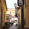 Sorrento: Via Sant'Antonino with Ristorante Caruso