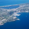 On plane: Toward Baiae on Bay of Naples