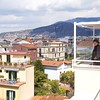 Sorrento: Hotel Plaza: Kate enjoying view from Sky Bar