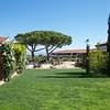 Paestum: Tenuta Vannulo: Courtyard, toward barn