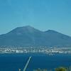 On bus: Mount Vesuvius from Castellammare di Stabia