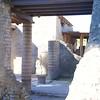 Herculaneum: Cardo V: Columns around peristyle