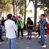 Herculaneum: Vincenzo talking to group