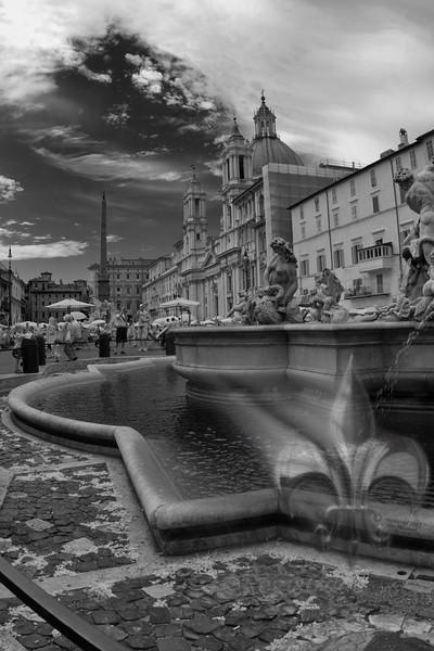 Neptune Fountain, Rome