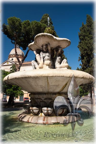 Quiriti Fountain, Rome