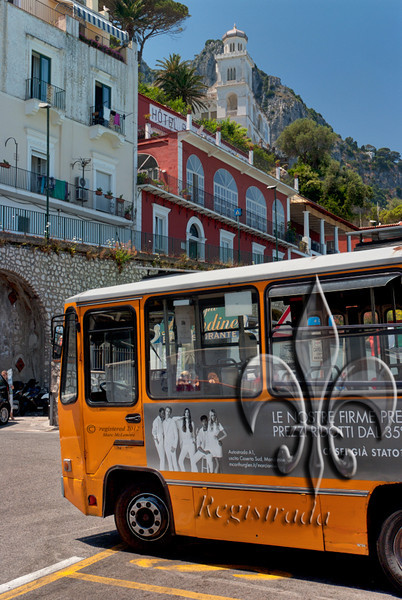 bus to Anacapri