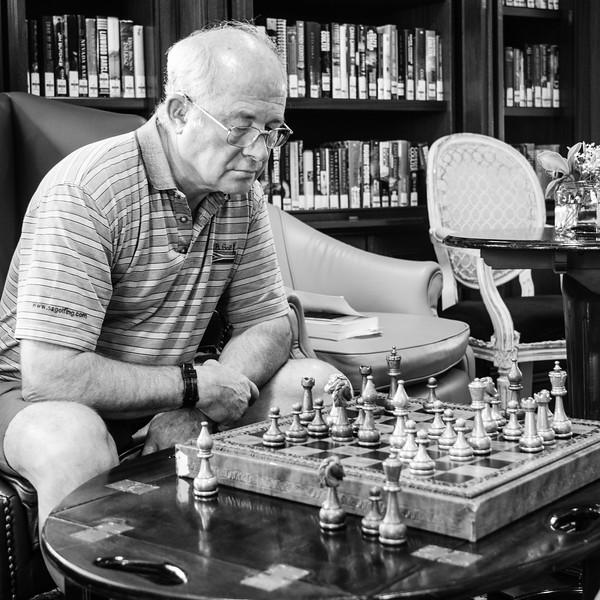 Chess man Steve