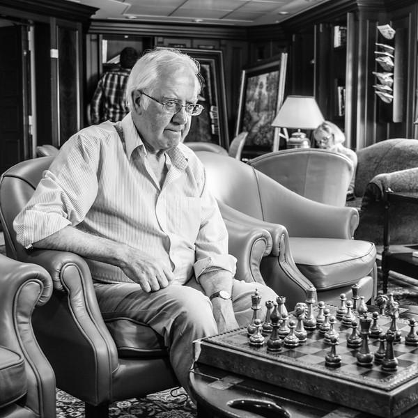 Chess man Dave